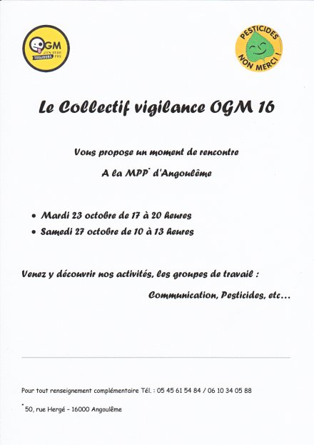 Collectif Vigilance OGM 16